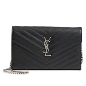 Saint Laurent YSL Shoulder Cross body Wallet Bag